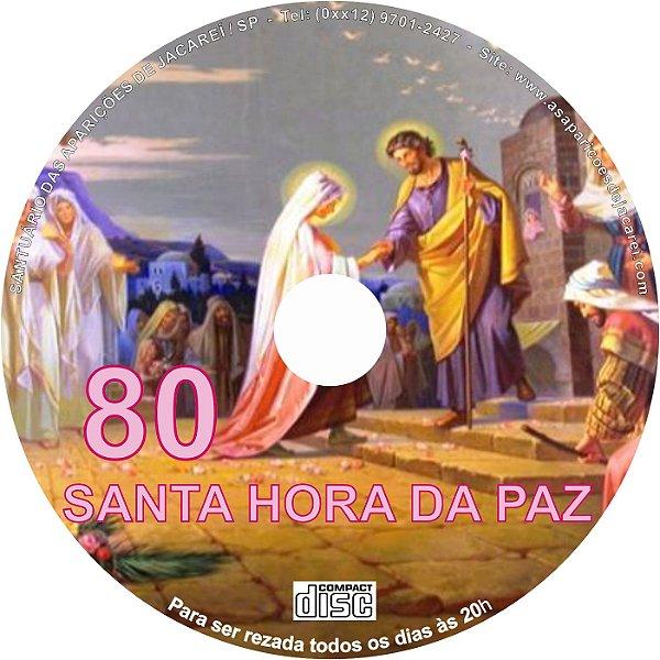 CD SANTA HORA DA PAZ 080