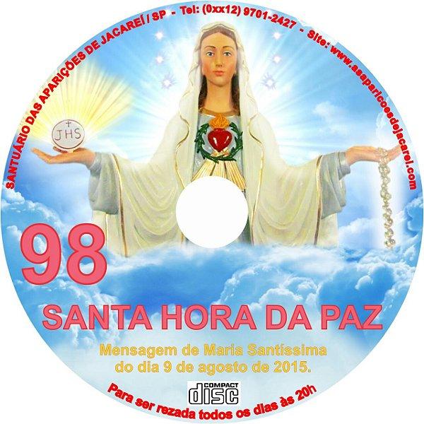 CD SANTA HORA DA PAZ 098