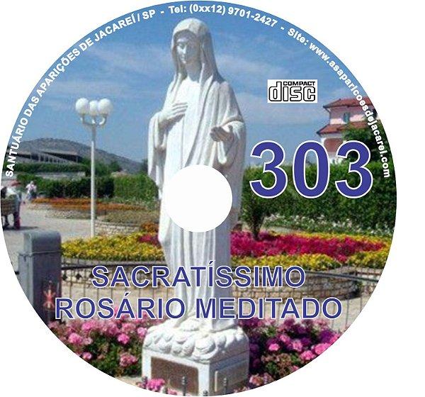 CD ROSÁRIO MEDITADO 303