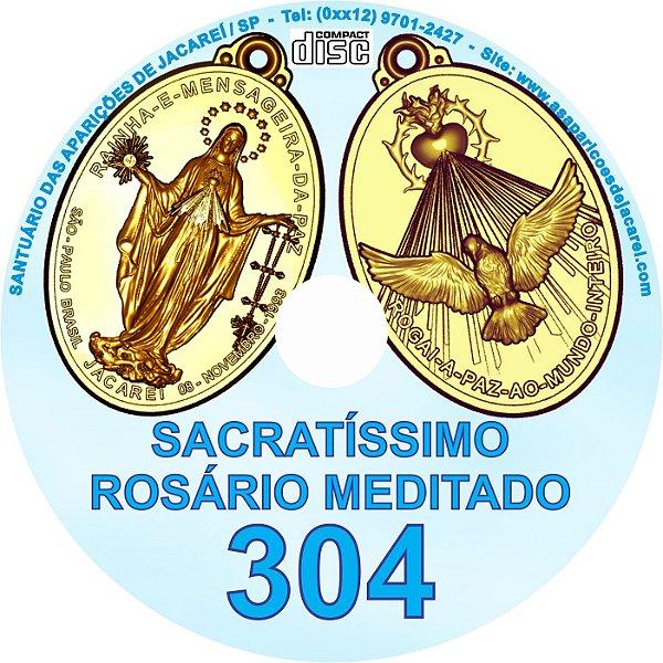 CD ROSÁRIO MEDITADO 304