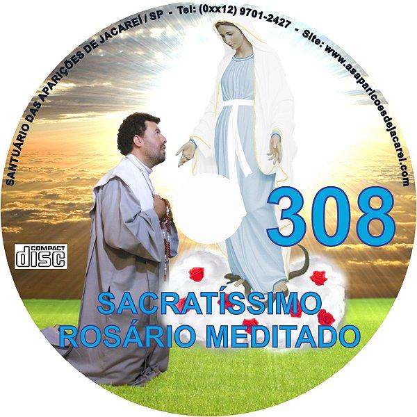 CD ROSÁRIO MEDITADO 308