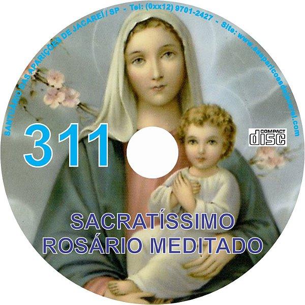 CD ROSÁRIO MEDITADO 311