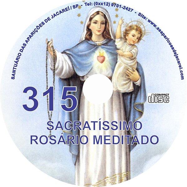 CD ROSÁRIO MEDITADO 315