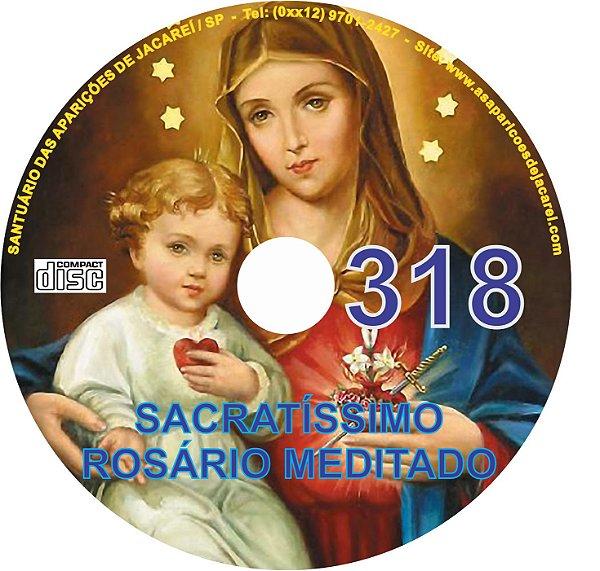CD ROSÁRIO MEDITADO 318