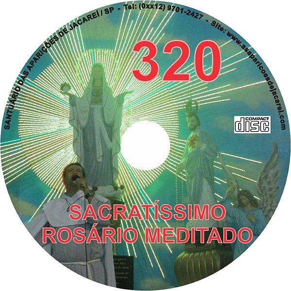 CD ROSÁRIO MEDITADO 320