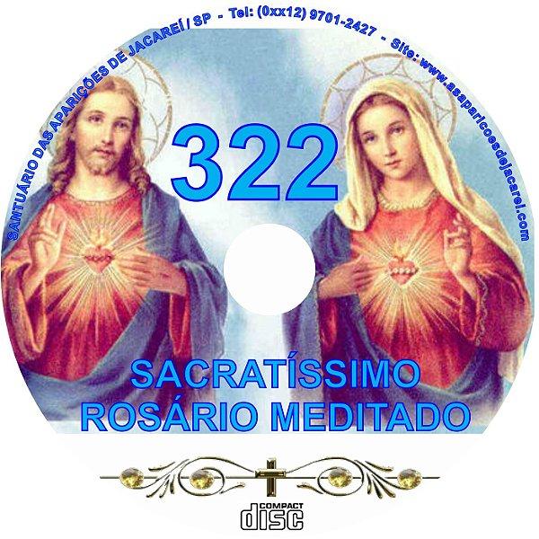CD ROSÁRIO MEDITADO 322