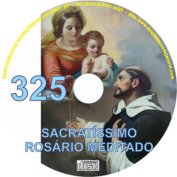 CD ROSÁRIO MEDITADO 325