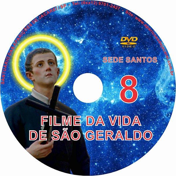 DVD SEDE SANTOS 08- VIDA DE SÃO GERALDO MAJELLA