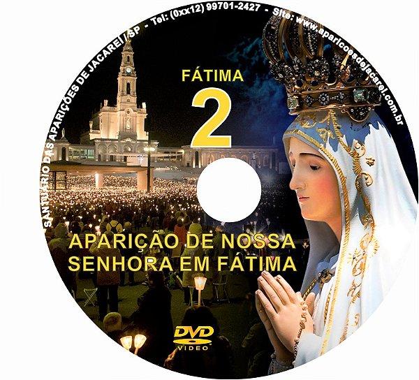 DVD- FILME AS APARIÇÕES DE FÁTIMA 2