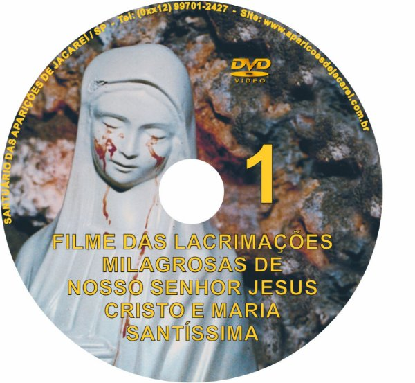 DVD- FILME LÁGRIMAS DE JESUS E MARIA 1