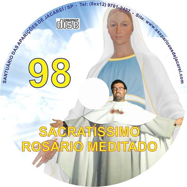 CD ROSÁRIO MEDITADO 098