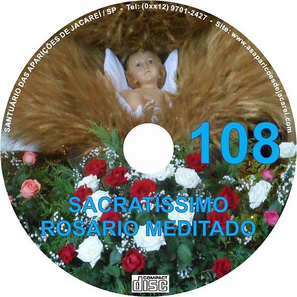CD ROSÁRIO MEDITADO 108
