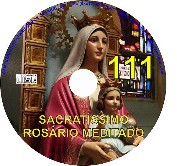 CD ROSÁRIO MEDITADO 111