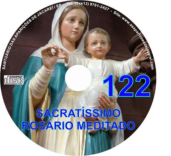 CD ROSÁRIO MEDITADO 122