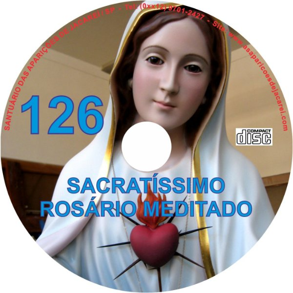 CD ROSÁRIO MEDITADO 126