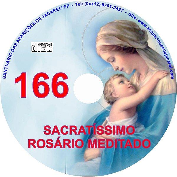 CD ROSÁRIO MEDITADO 166