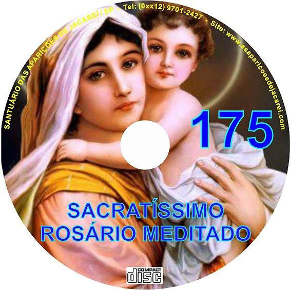 CD ROSÁRIO MEDITADO 175