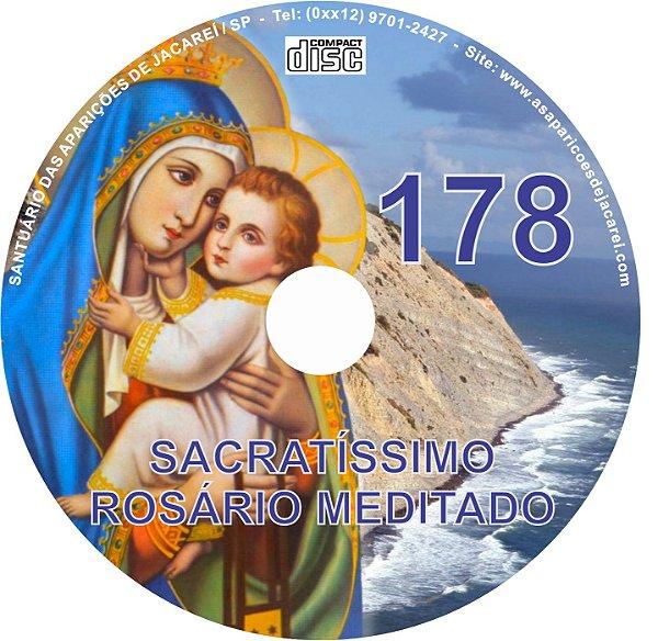 CD ROSÁRIO MEDITADO 178