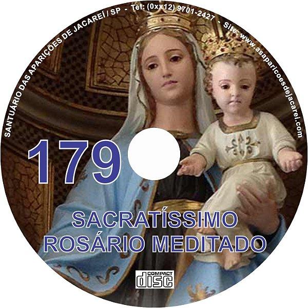 CD ROSÁRIO MEDITADO 179