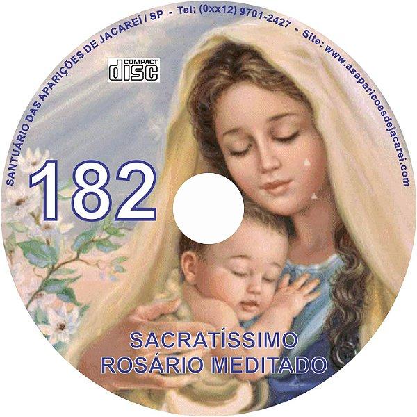 CD ROSÁRIO MEDITADO 182