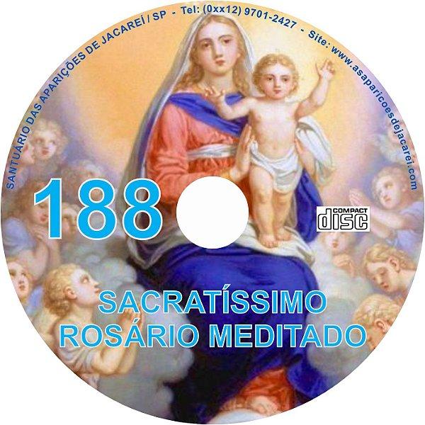 CD ROSÁRIO MEDITADO 188