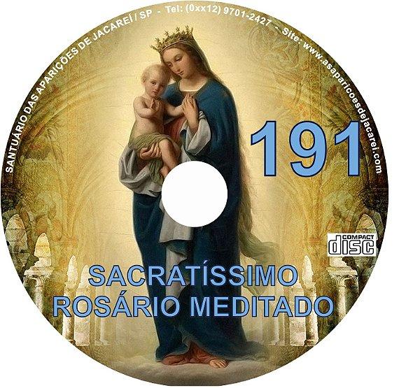 CD ROSÁRIO MEDITADO 191