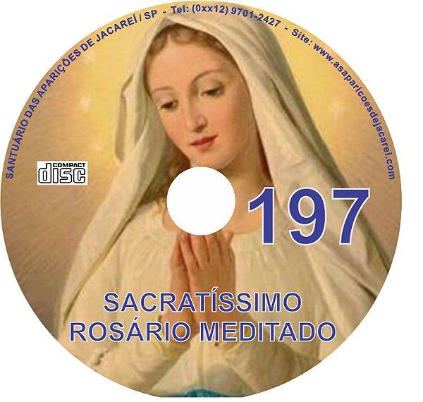 CD ROSÁRIO MEDITADO 197