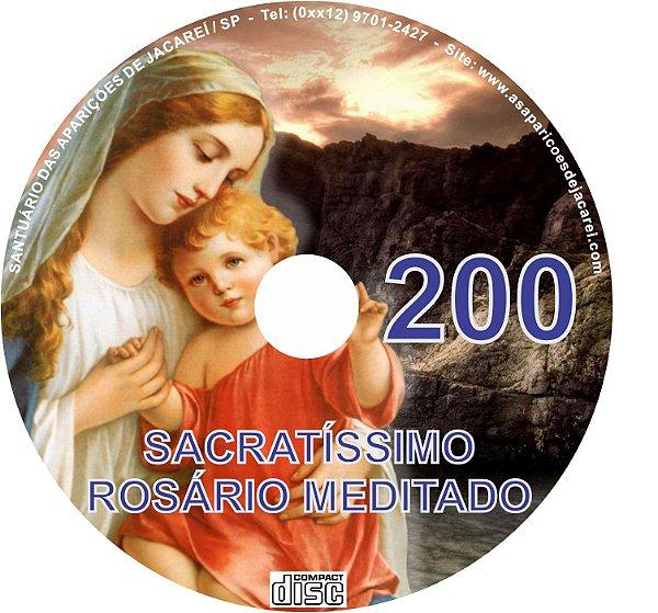 CD ROSÁRIO MEDITADO 200