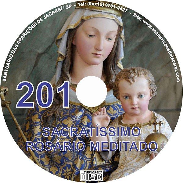 CD ROSÁRIO MEDITADO 201