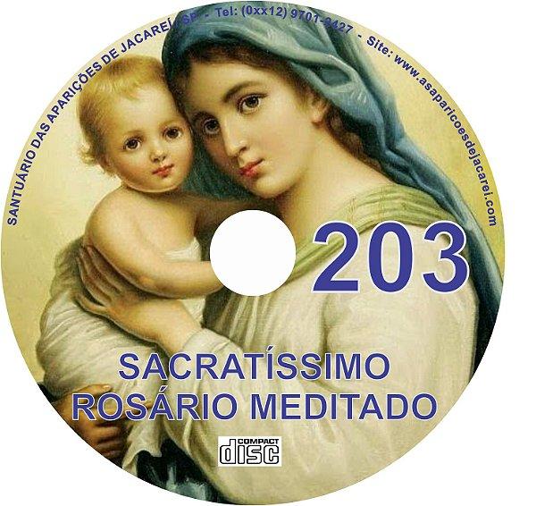 CD ROSÁRIO MEDITADO 203