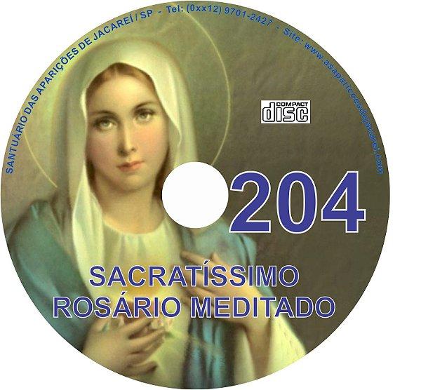 CD ROSÁRIO MEDITADO 204