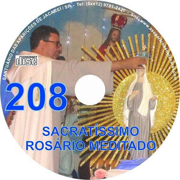 CD ROSÁRIO MEDITADO 208