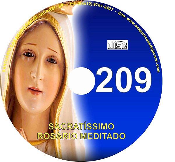 CD ROSÁRIO MEDITADO 209