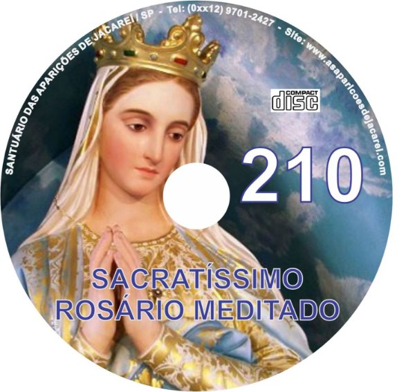 CD ROSÁRIO MEDITADO 210