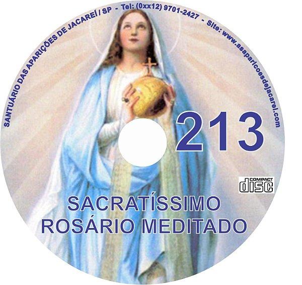 CD ROSÁRIO MEDITADO 213