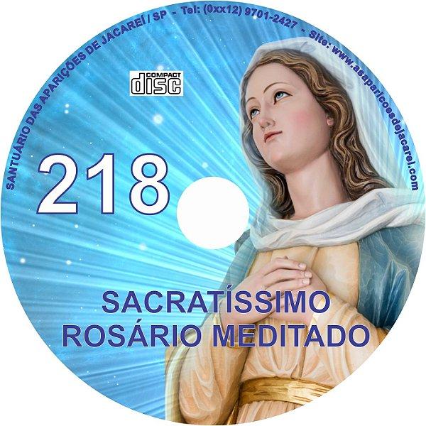 CD ROSÁRIO MEDITADO 218