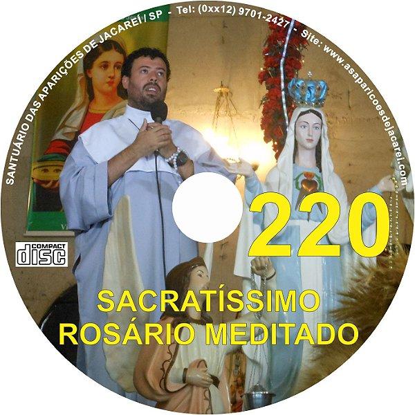 CD ROSÁRIO MEDITADO 220
