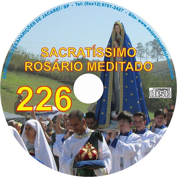 CD ROSÁRIO MEDITADO 226