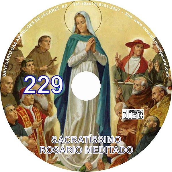 CD ROSÁRIO MEDITADO 229