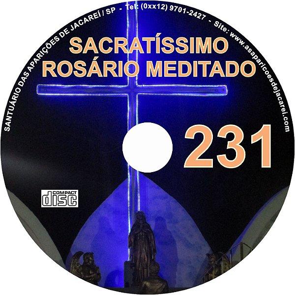 CD ROSÁRIO MEDITADO 231