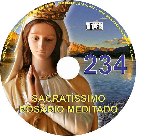CD ROSÁRIO MEDITADO 234