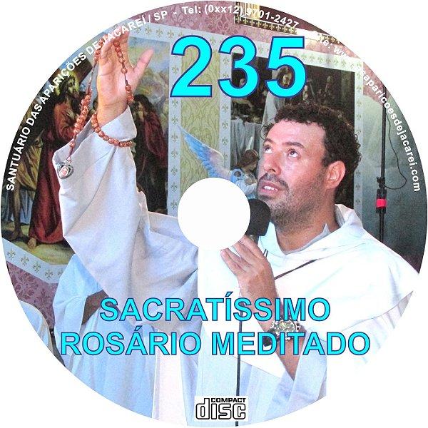 CD ROSÁRIO MEDITADO 235
