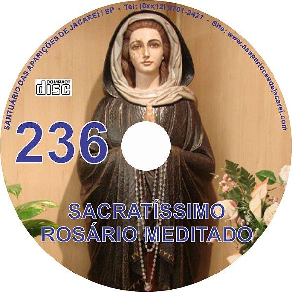 CD ROSÁRIO MEDITADO 236