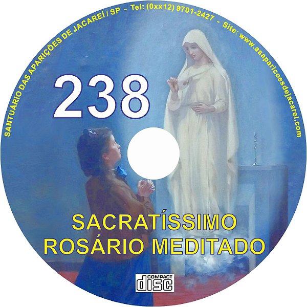 CD ROSÁRIO MEDITADO 238