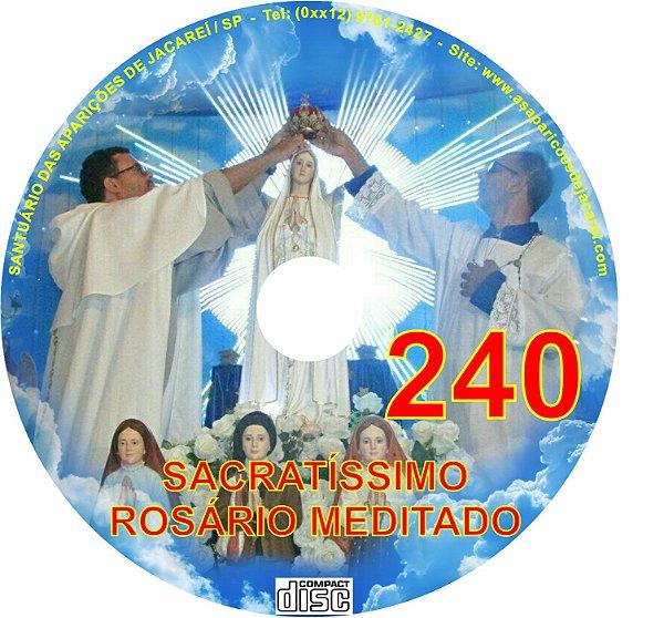 CD ROSÁRIO MEDITADO 240