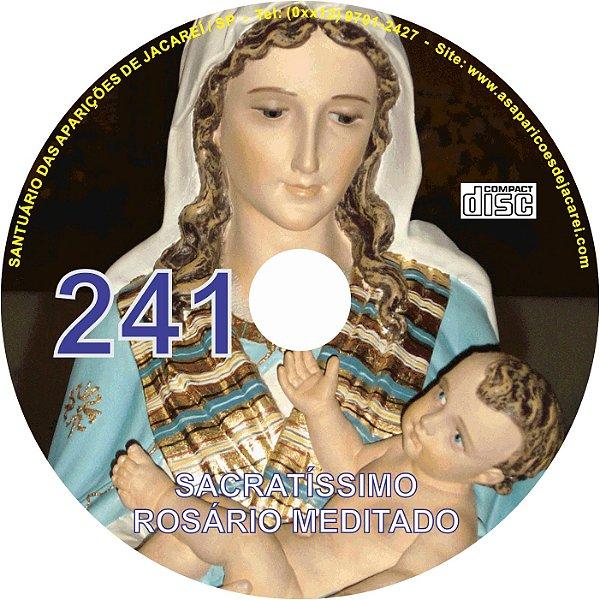 CD ROSÁRIO MEDITADO 241