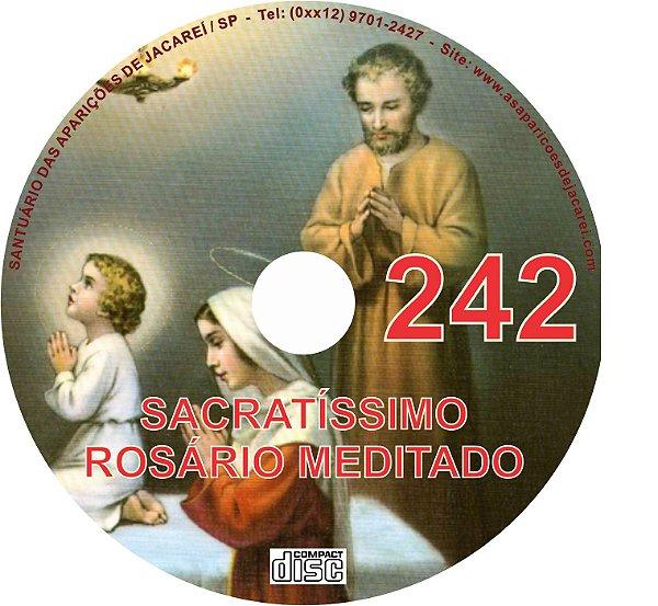 CD ROSÁRIO MEDITADO 242