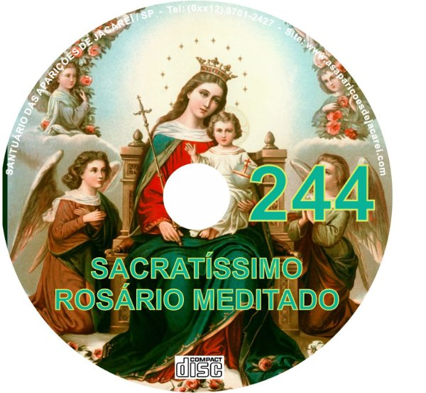CD ROSÁRIO MEDITADO 244