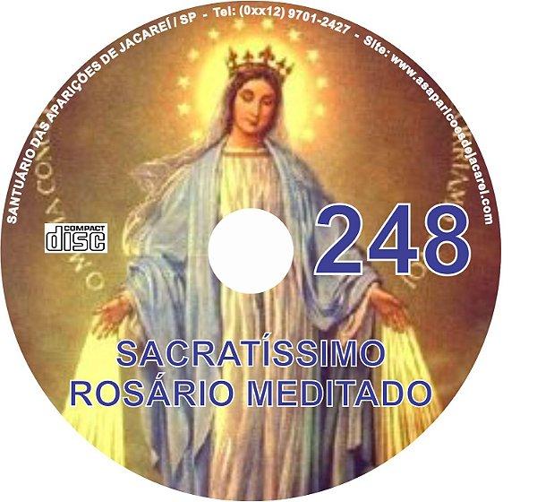CD ROSÁRIO MEDITADO 248