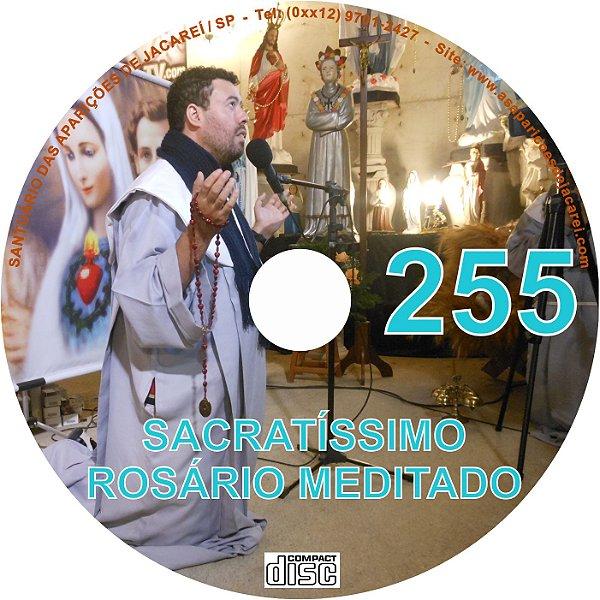 CD ROSÁRIO MEDITADO 255